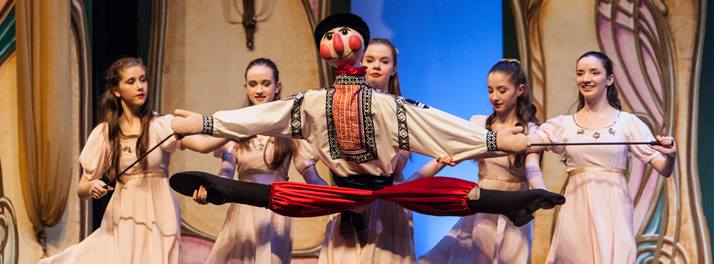 Vladimir, the Russian puppet, from The Nutcracker