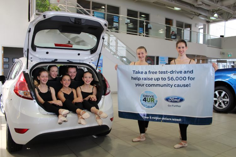 KiDanCo & Ford Canada Drive 4UR Community fundraising event at MacPhee Ford.