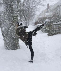 Hayley - Arabesque In The Snow
