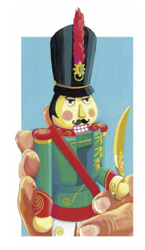 The Nutcracker from Clara's Gifts